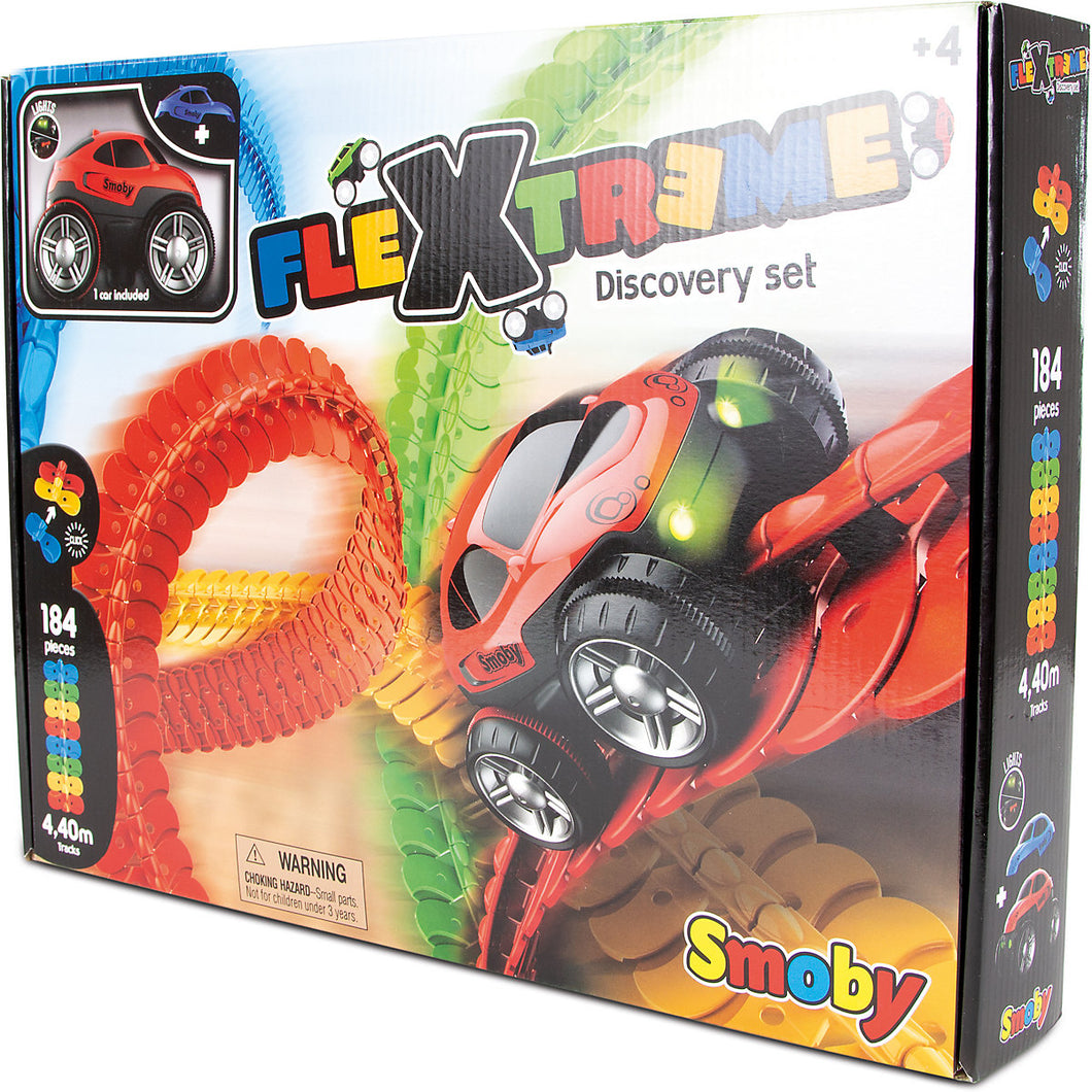 Smoby Rennbahn Flextreme Discovery Set