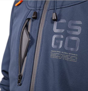 Musterbrand Counter Strike GO -Softgel-Jacke