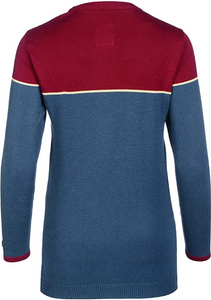 Musterbrand Marvel Crew Neck Damen Captain Marvel blau