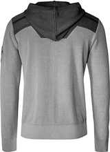 Laden Sie das Bild in den Galerie-Viewer, Musterbrand Warhammer 40.000 Knit Hoodie Men Necron Cardigan Grey