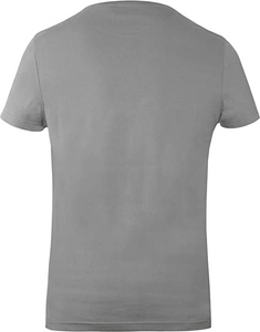 GOZOO Halo Agent Locke Men's T-Shirt 100% Baumwolle Grau Grey