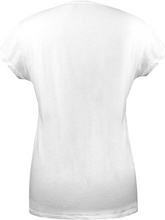 Load image into Gallery viewer, GOZOO Halo Frauen T-Shirt Kelly 100% Baumwolle Weiß