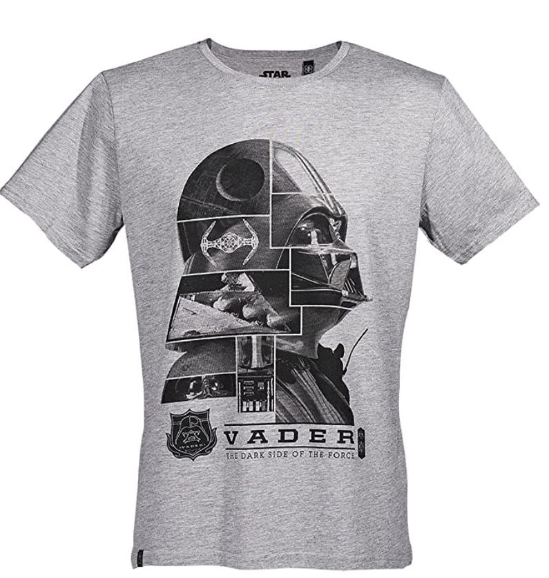 GOZOO Star Wars Classic T-Shirt Herren Lord Vader -Dark Side of The Force