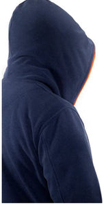 Musterbrand Counter-Strike Zip-Hoodie Fleece Jacket Sweatshirt-Jacke blau