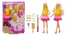 Laden Sie das Bild in den Galerie-Viewer, Mattel - Barbie Locken Style - Puppe blond