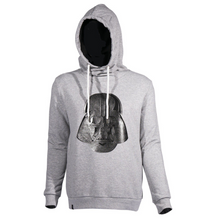 Laden Sie das Bild in den Galerie-Viewer, Musterbrand Hoodie »3D Silver Darth Vader« Rogue One
