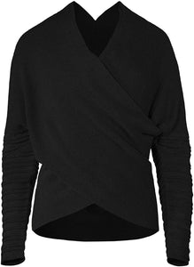 Musterbrand Star Wars Dark Rey Wrap Top Knitted Sweater