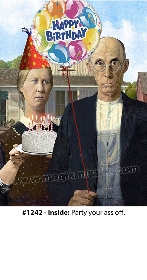 1242 - Birthday Card