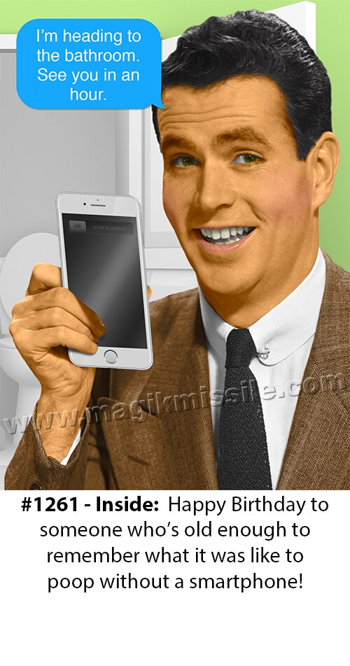 1261 - Funny Birthday Card