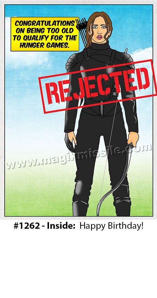1262 - Funny Birthday Card