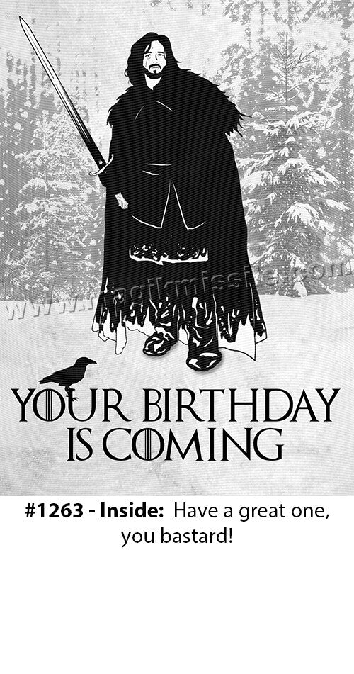 1263 - Funny Birthday Card