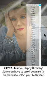 1282 - Funny Birthday Card
