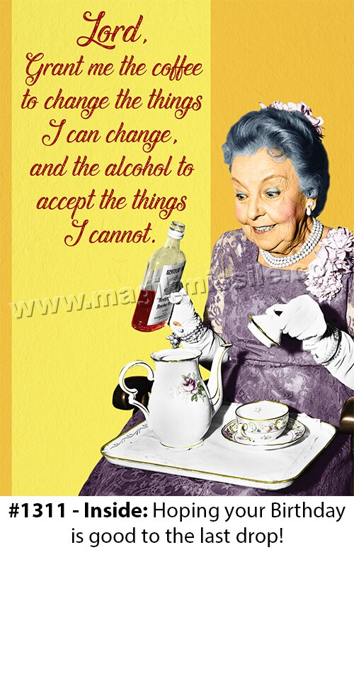 1311 - Funny Birthday Card