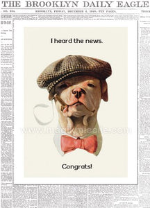 654 - Congratulations Card