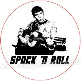 Spock 'N Roll Button