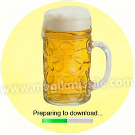 Beer Download Button
