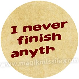 Never Finish Button