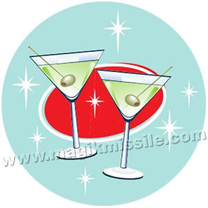 Martini Time button