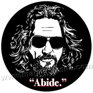 Abide! button