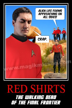 Red Shirts magnet