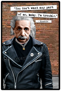 Punk Einstein sign
