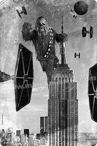 King Kong Chewie sign