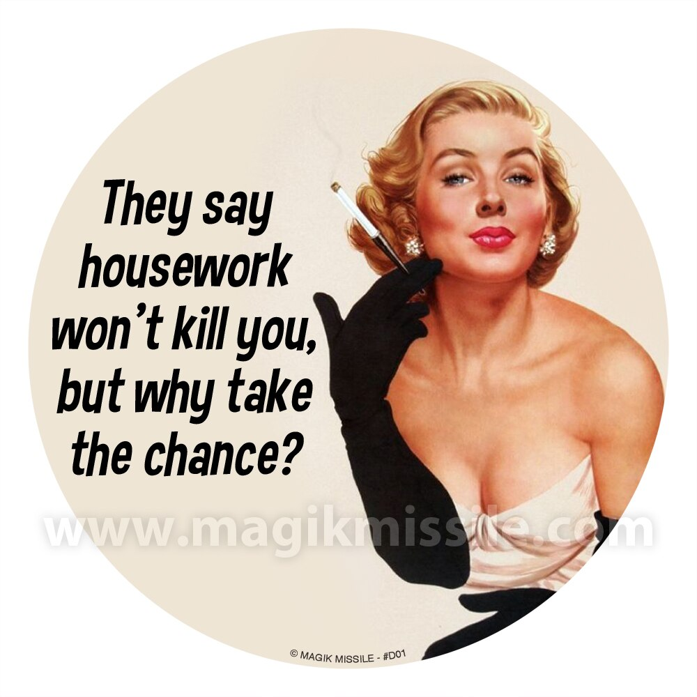 Housework Decal