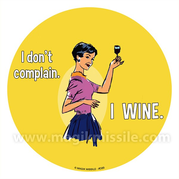 I Wine Decal