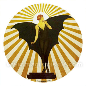 Bat Lady Decal