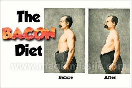 Bacon Diet Magnet