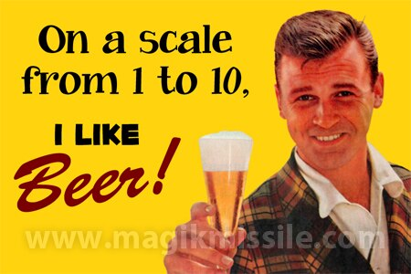 I Like Beer Magnet