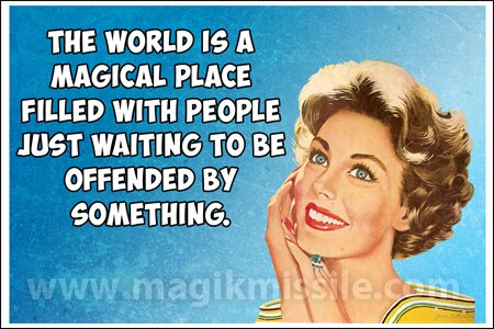 Magical Place Magnet