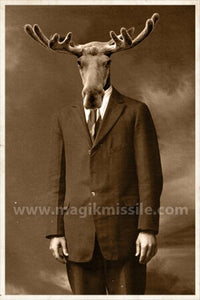 Business Moose Magnet
