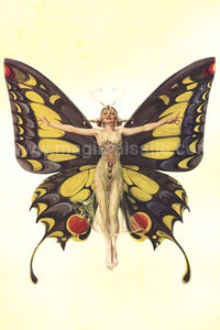 Flapper Butterfly Magnet