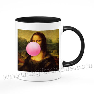 Mona Lisa Bubble mug