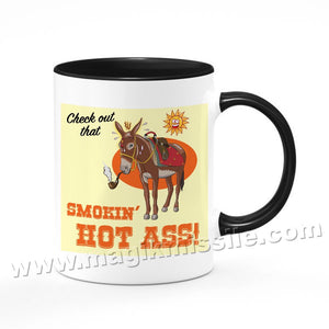 Smokin' Hot Ass mug