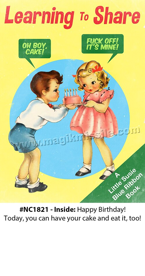NC1821 - Adult Birthday Card