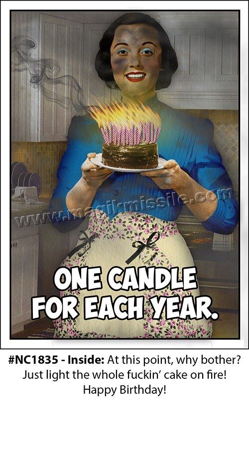 NC1835 - Adult Birthday Card