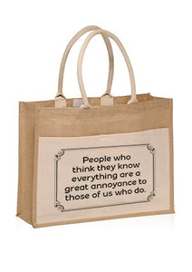 A Great Annoyance - Tote
