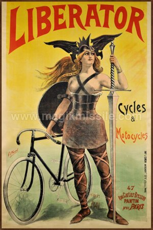 Liberator Cycles Sign