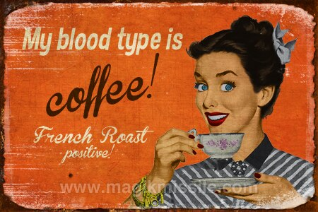 French Roast Sign
