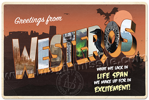 Greetings from Westeros sign