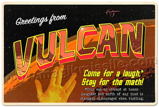 Greetings from Vulcan sign