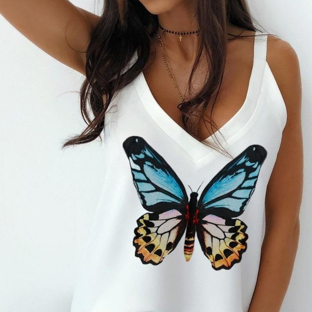 Dream Butterfly Woman Tops - Woman Blush®