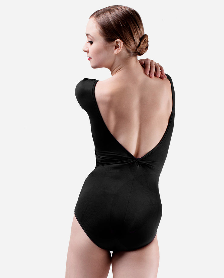 Cap Sleeve Low Back Leotard - E 10878 - So Danca