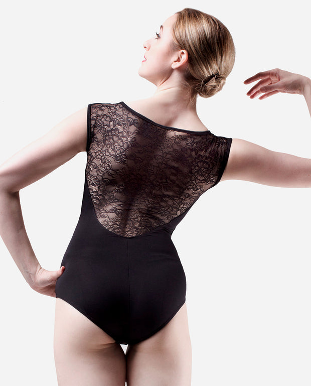 Lace Cap Sleeve Leotard - E 10946 - So Danca