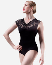 Lace Top Classic Leotard - RDE 1557 - So Danca