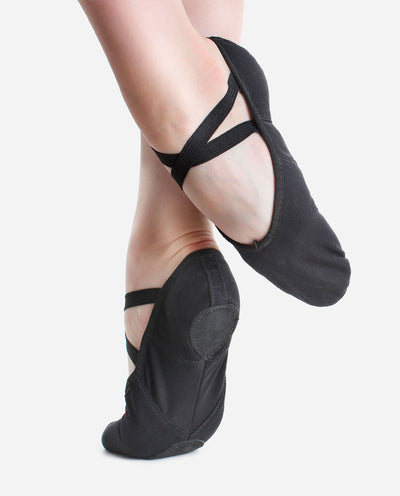 Canvas Split-Sole Ballet Shoe - BAE 13L - So Danca