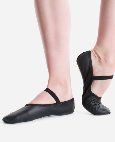 Full Sole Leather Ballet Shoe - BAE 90L - So Danca