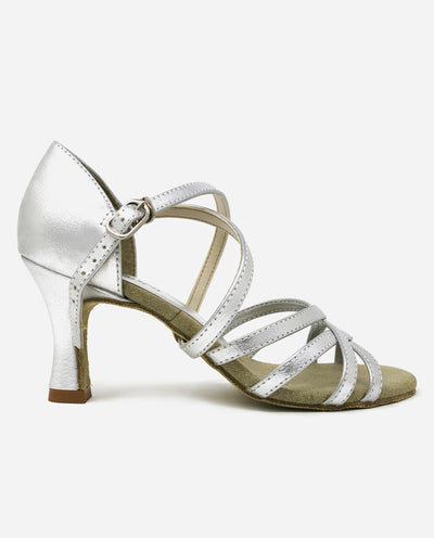 Silver Latin Sandal - BL 164 - So Danca